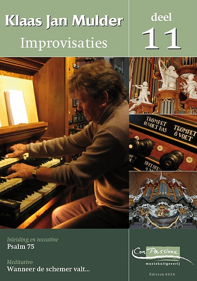 Improvisations Book 11 - Klaas Jan Mulder