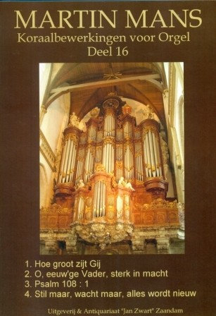 Koraalbewerkingen Book 16 - Martin Mans