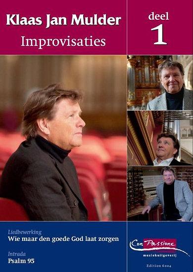 Improvisations Book 1 - Klaas Jan Mulder