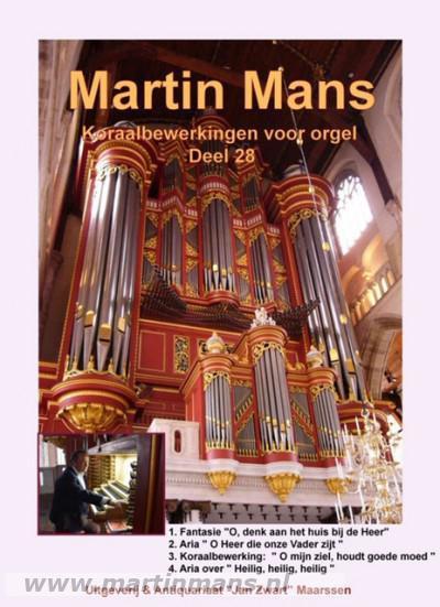 Bladmuziek Book 28 - Martin Mans