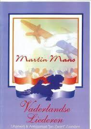 Vaderlandse Liederen Book 8 - Martin Mans