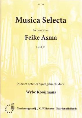 Feike Asma - Musica Selecta Book 11