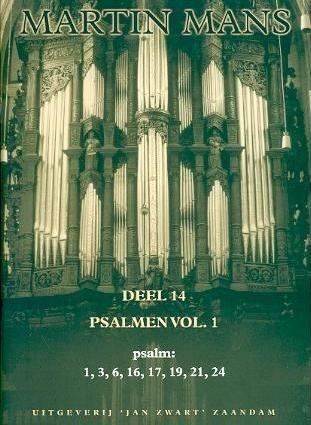 Psalmbewerkingen Book 14 - Martin Mans
