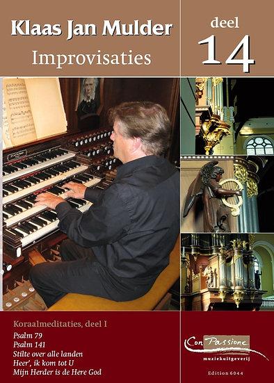 Improvisations Book 14 - Klaas Jan Mulder