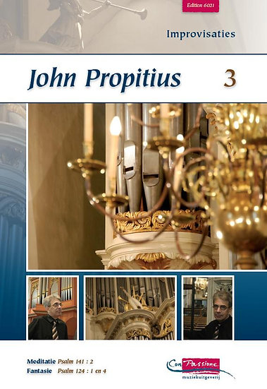 Improvisations Book 3 - John Propitius