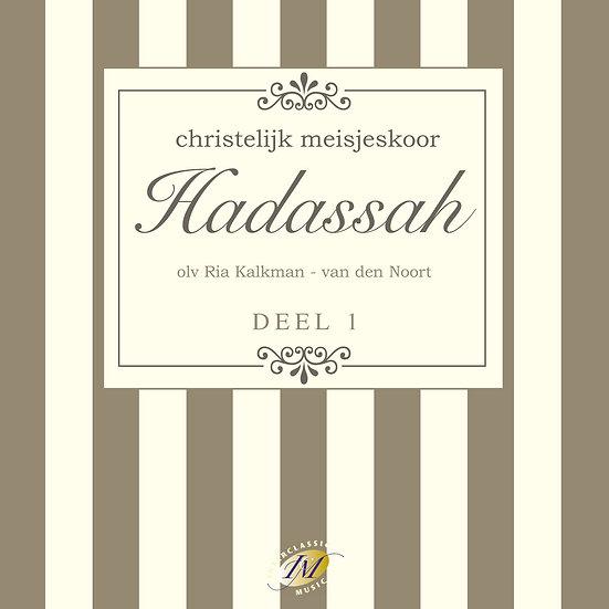 Chr. Meisjeskoor Hadassah - CD 1