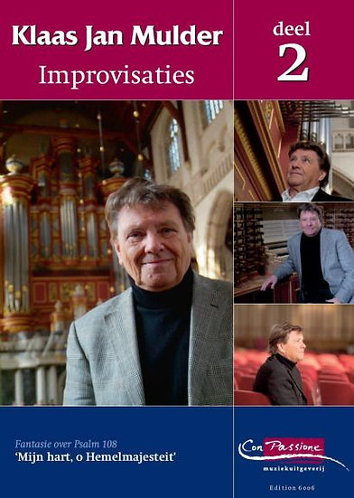 Improvisations Book 2 - Klaas Jan Mulder