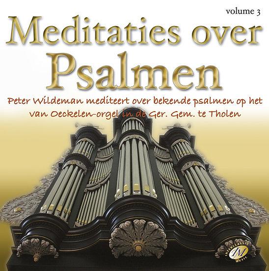 Meditaties Over Psalmen 3 - Peter Wildeman