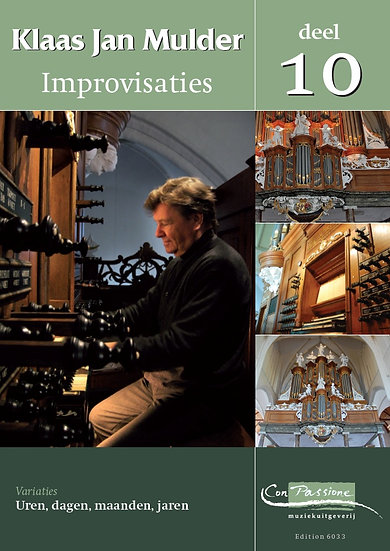 Improvisations Book 10 - Klaas Jan Mulder
