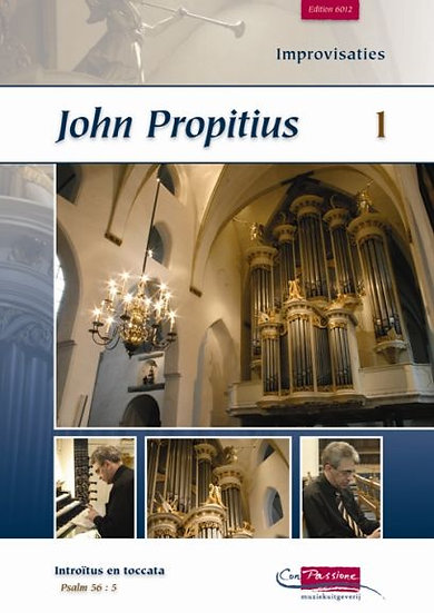 Improvisations Book 1 - John Propitius