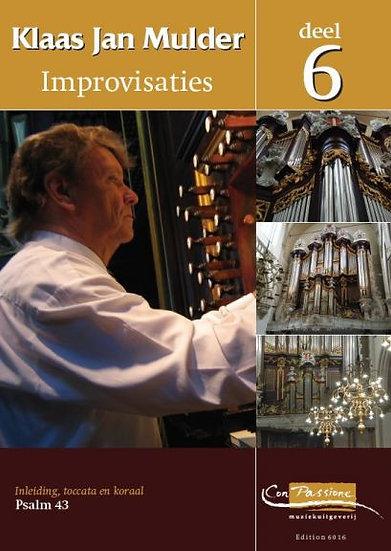 Improvisations Book 6 - Klaas Jan Mulder