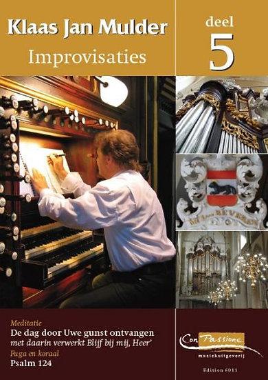 Improvisations Book 5 - Klaas Jan Mulder