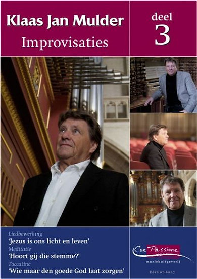 Improvisations Book 3 - Klaas Jan Mulder