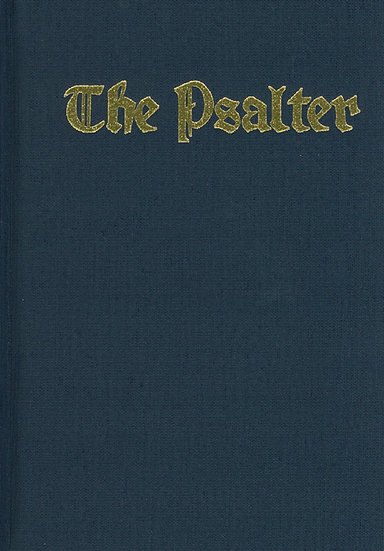 The Psalter - Large Ringed Edition