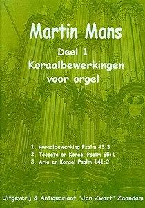 Koraalbewerkingen Book 1 - Martin Mans
