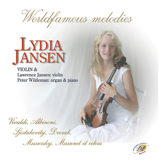 World Famous Melodies on Violin - Lydia Jansen