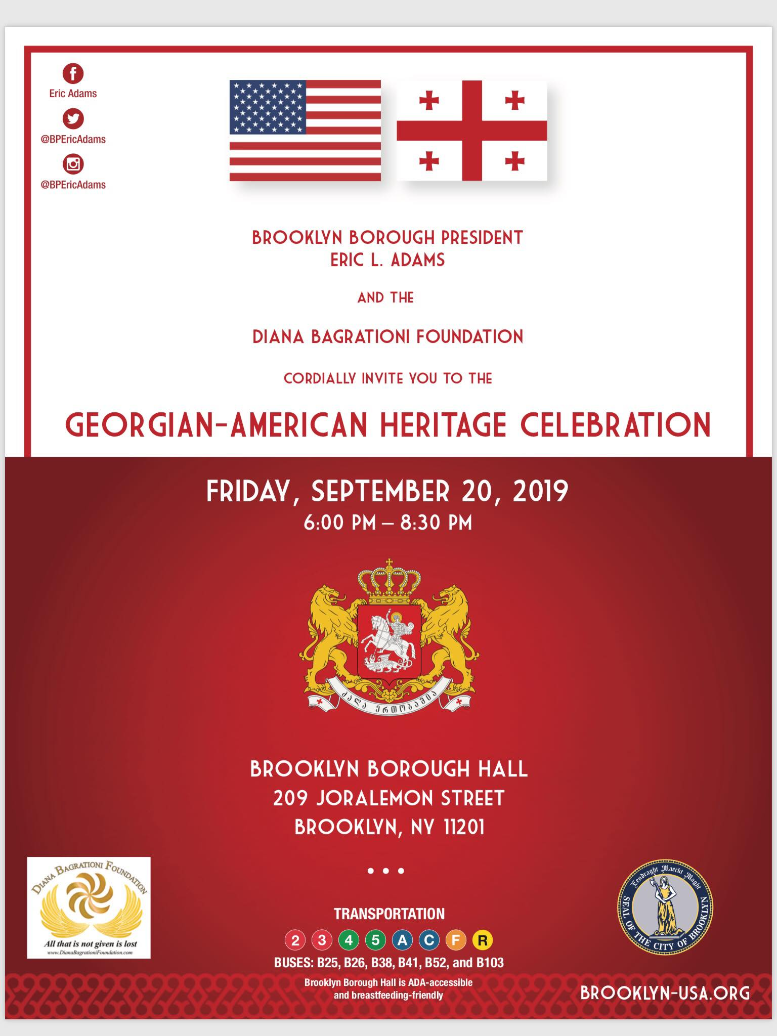 Georgian-American Heritage Day