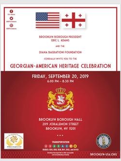 Georgian-American Heritage Day