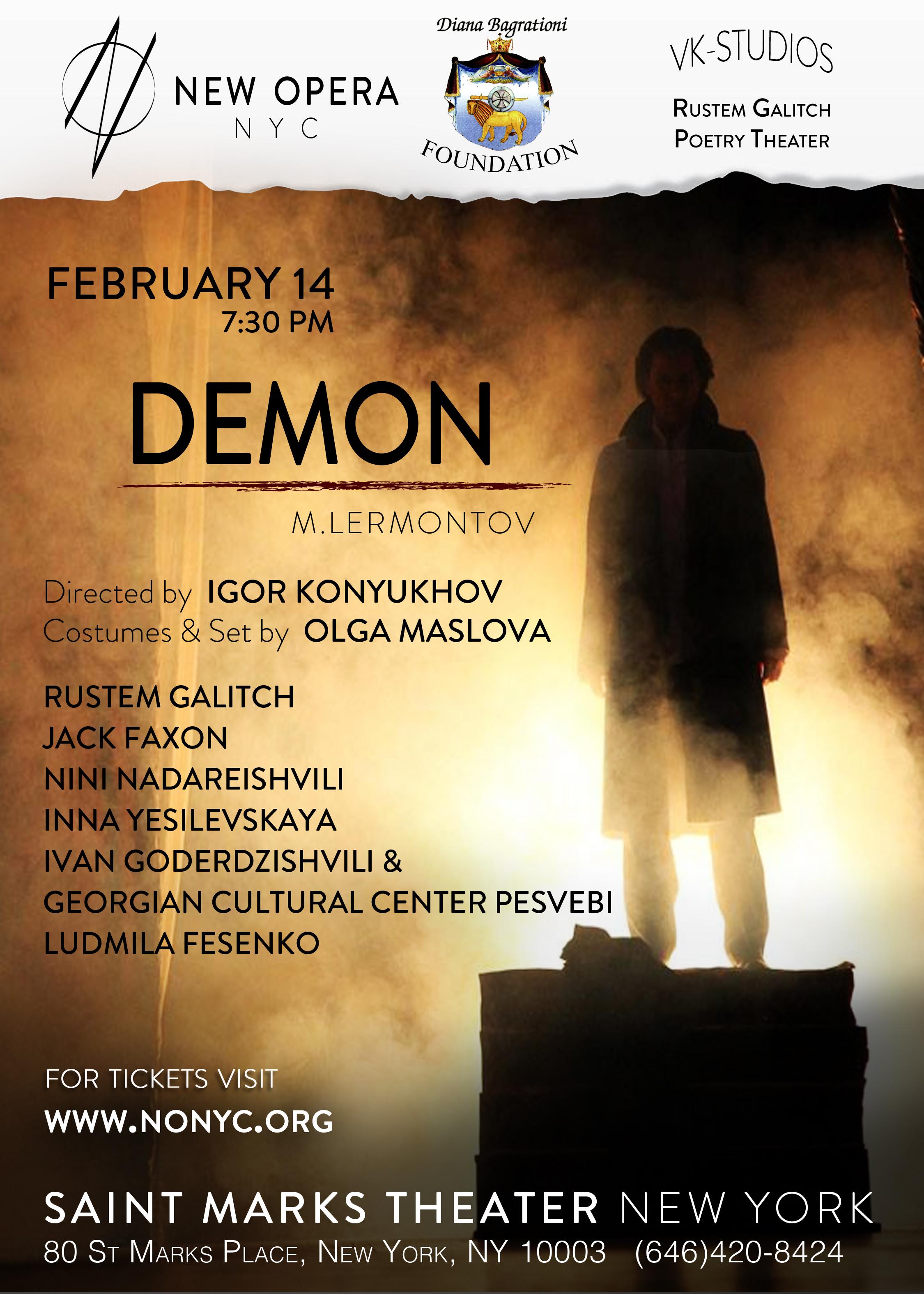 """M. Lermontov """"DEMON"""""""