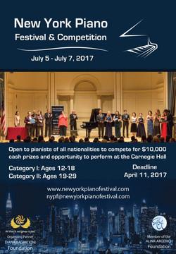 New York Piano Festival Summer 2017
