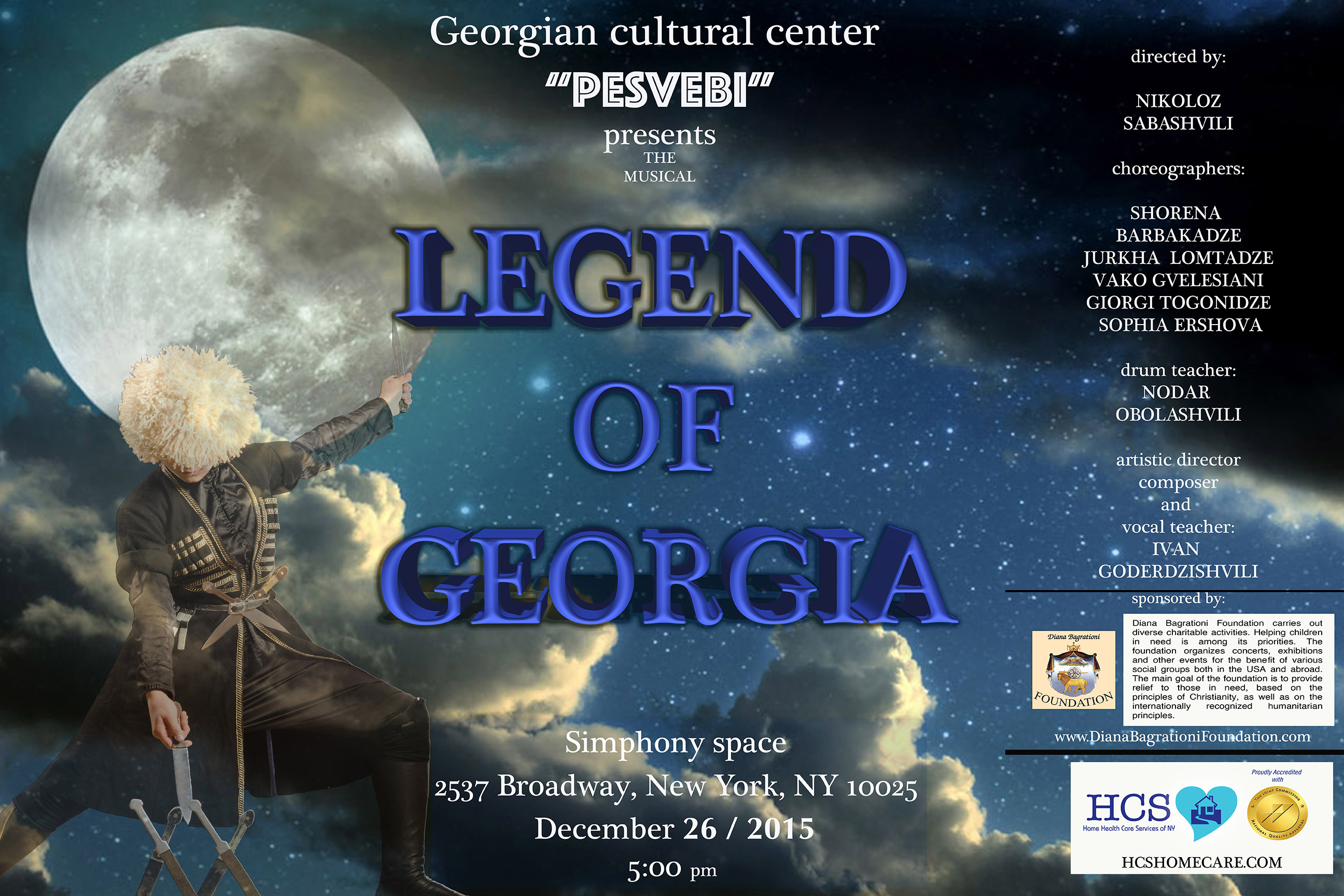 "Musical ""Legend of Georgia"""