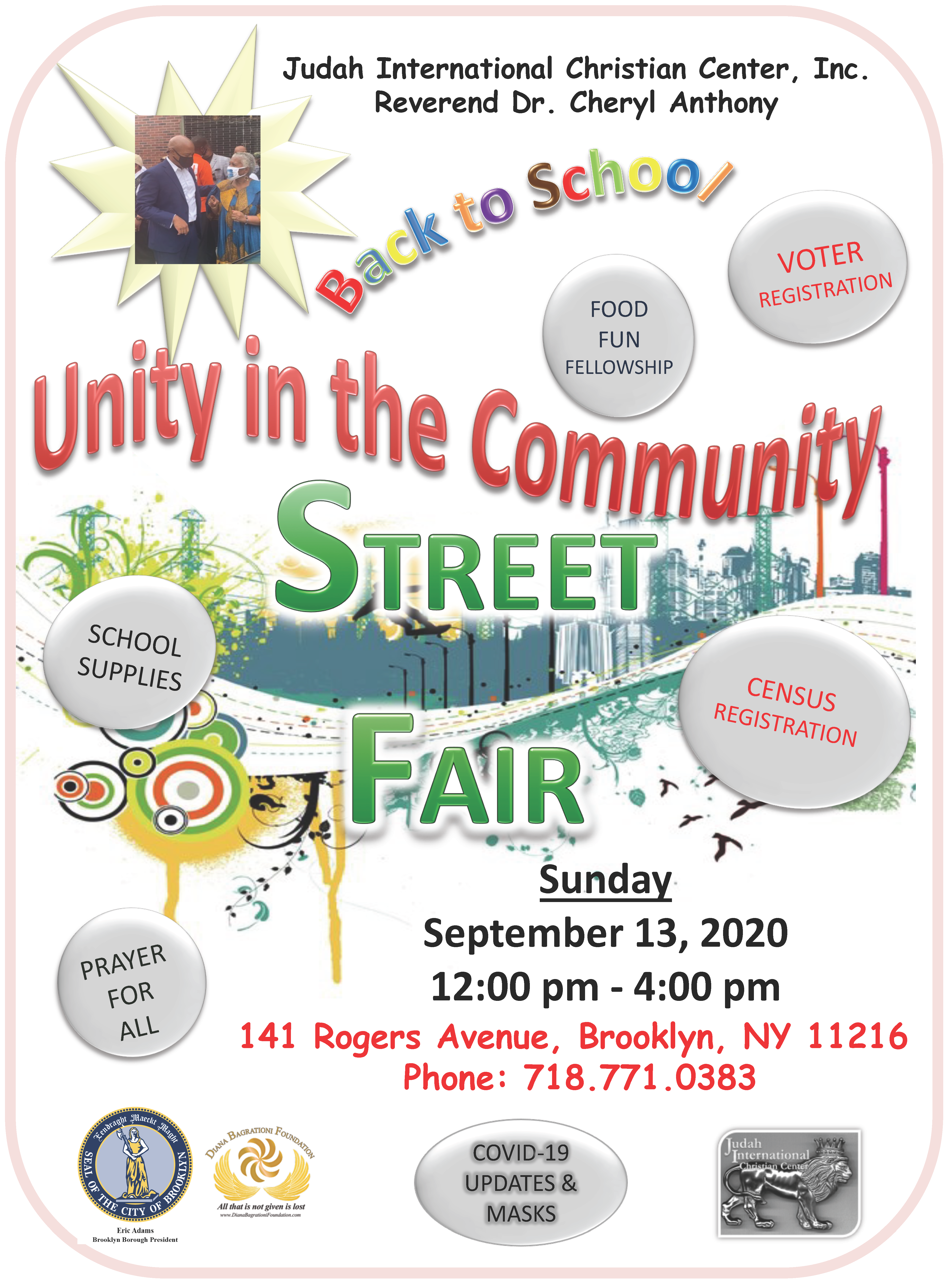 Unity In The Community Street Fair