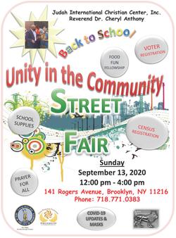 Unity In The Community Street Fair