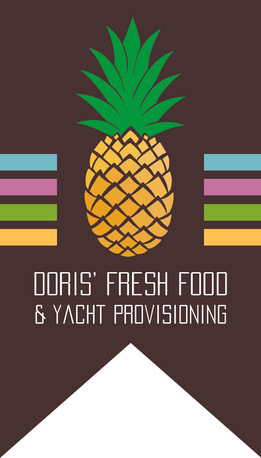 Doris Fresh Food - Card Front