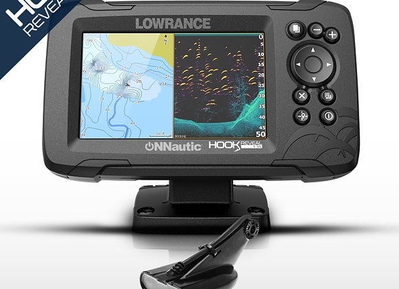"LOWRANCE HOOK REVEAL 5""  TR50-200"