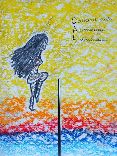 Concentration, admiration, liberté - Alexia