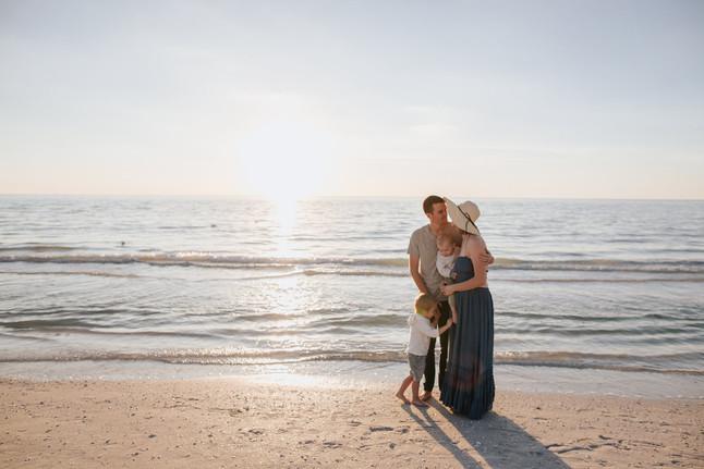 Collett Family- Beach Session
