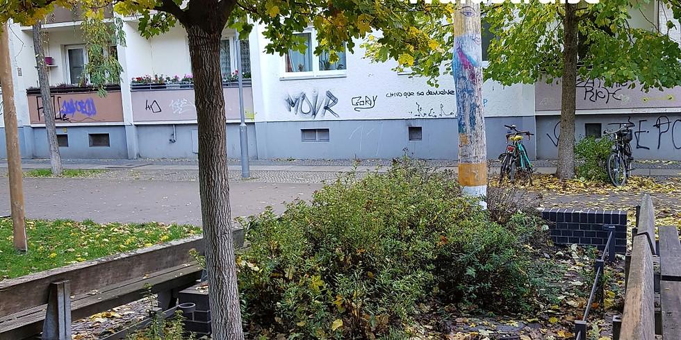 """28.8.2021 die 18. Mitmach Aktion - heute """"nur"""" #Grünpflege,Unrat entfernen  an verschiedenen Beeten in der Waldstraße"""