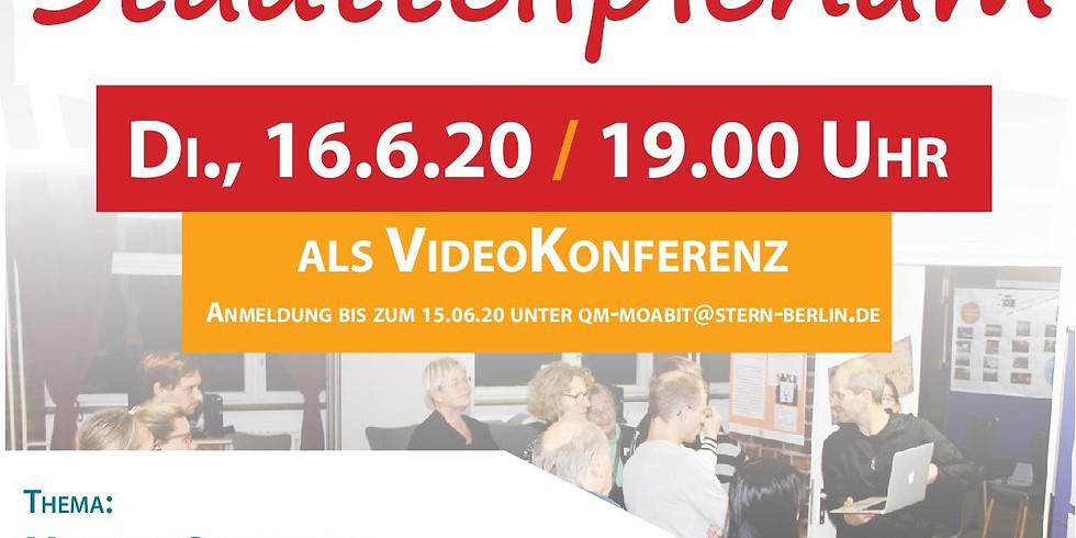16.6.2020 Präsentation der Waldstraßeninitiative im Stadtteilplenum