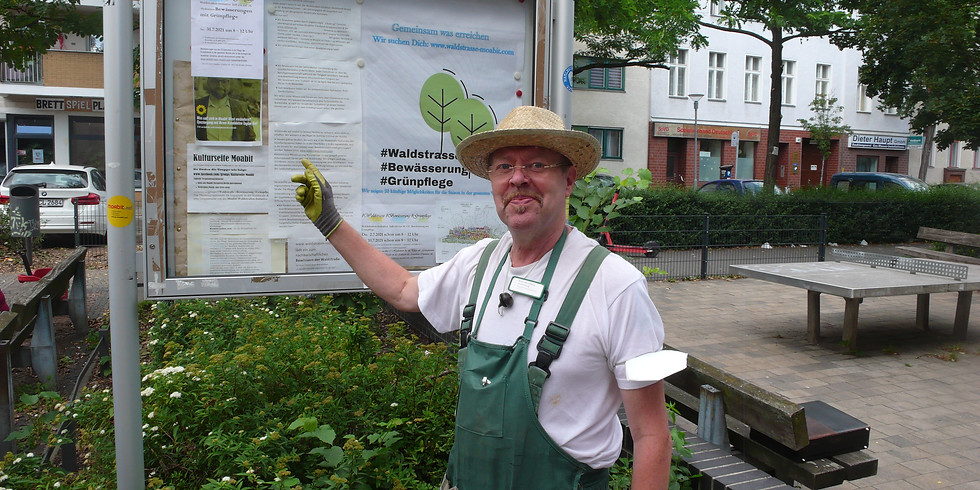 Sa.4.9.2021 - die 19. Mitmach & ehrenamtliche Hydranten-Bewässerung mit Grünpflege