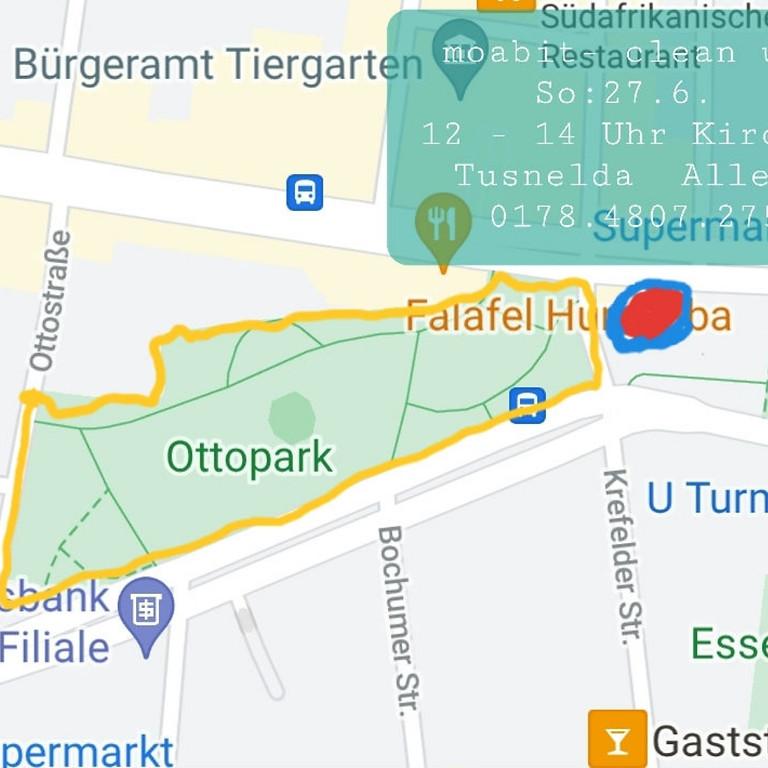 27.6. 2021 moabit - clean up  - ab 12 Uhr - Ottopark, im und um den Ottopark