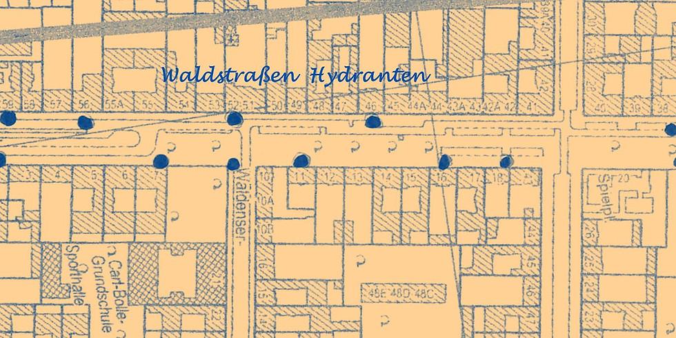 Fr. 24.4.2019 - Bewässerungsgruppe Waldstraße - das 5. Mal nach Ostern