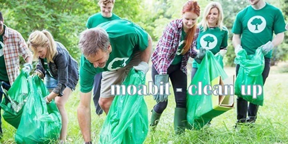 So. 18.4. 2021 Moabit: 2. clean up am Neues Ufer ab der Kaiser-Augusta-Allee (1)