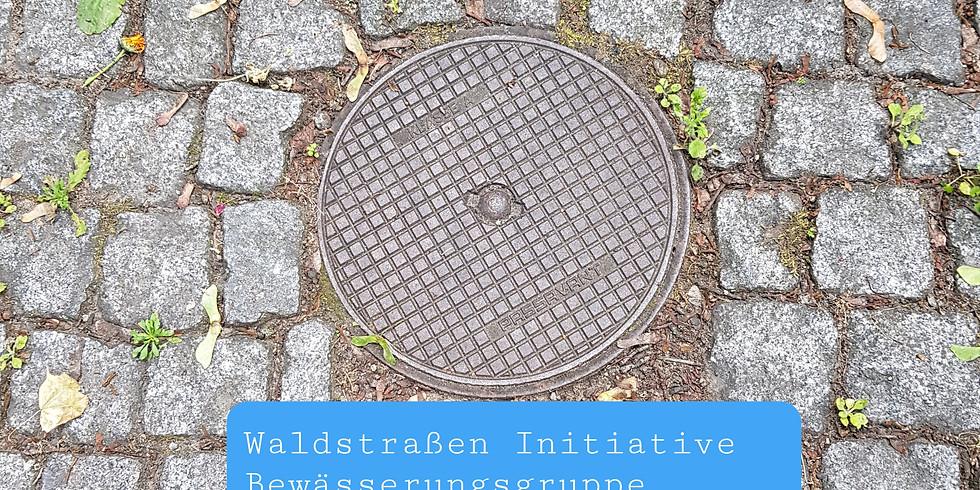29.5.2021 - Die 1. Hydranten-Bewässerung ( 2021) der Waldstraße ab 14 Uhr