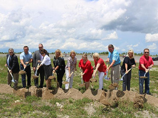 Groundbreaking ceremony held for Air Park water and sewer project