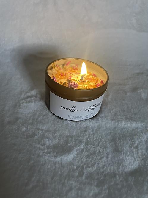 Vanilla Wildflower candle