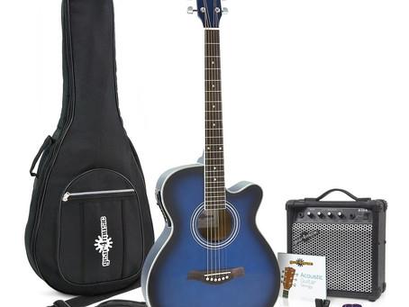 ¿Es una buena idea comprar un paquete o bundle con tu primera guitarra?