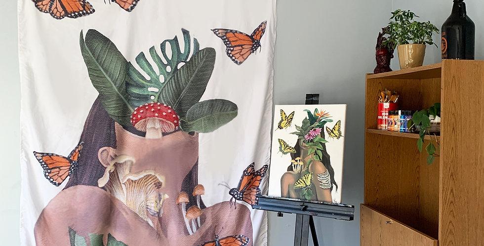 """Nature vs Nurture"" Tapestry"