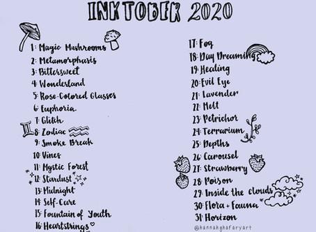 #Inktober2020