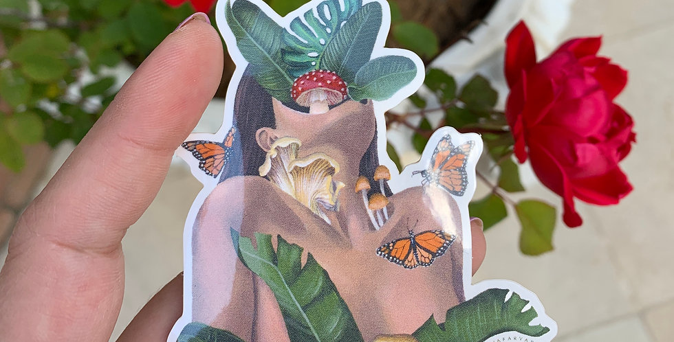 Nature vs. Nurture Sticker
