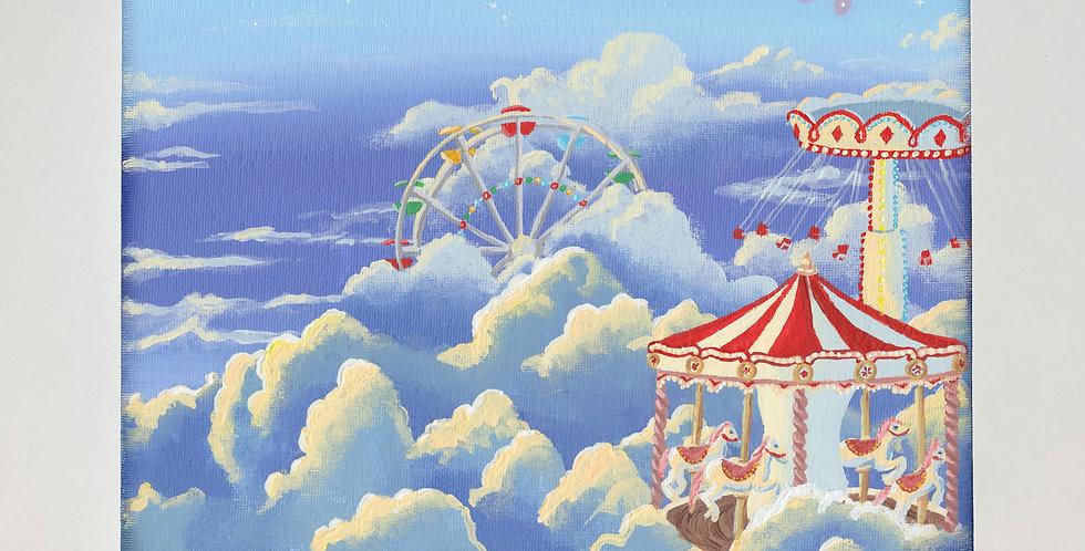"""Carousel"" Original Painting"