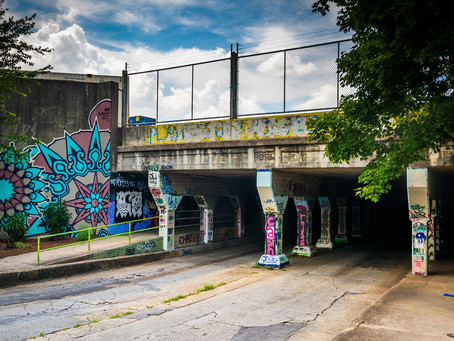 Exploring Krog Street Tunnel