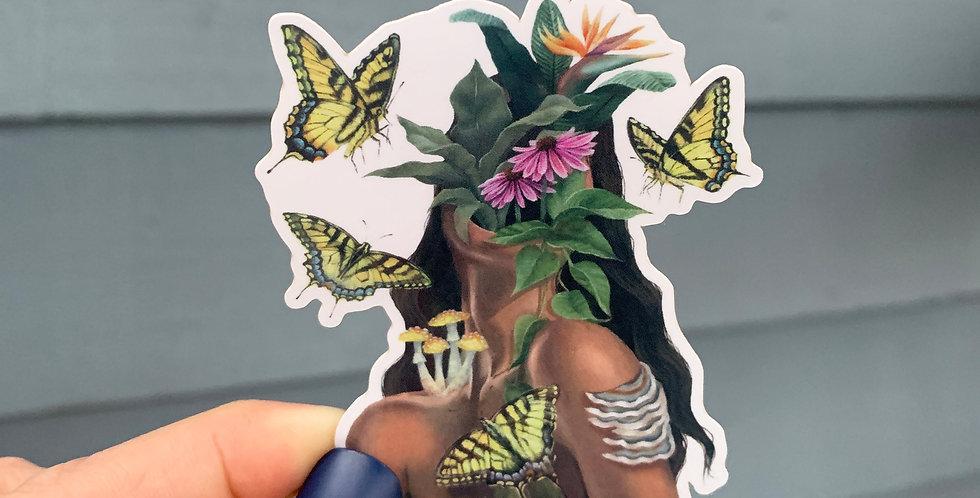 Nemophilia Sticker