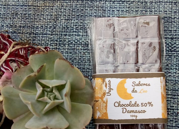 Chocolate Vegano com Damasco