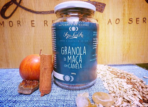Granola Artesanal de Maçã com Canela
