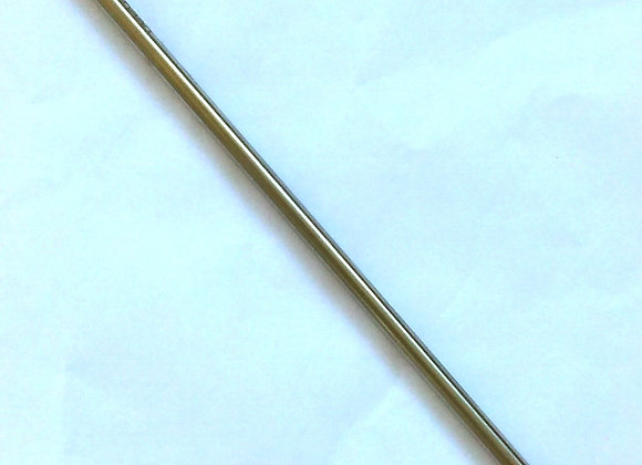 Canudo Reto de Inox Reutilizável